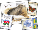 Stamps from Azerbaijan